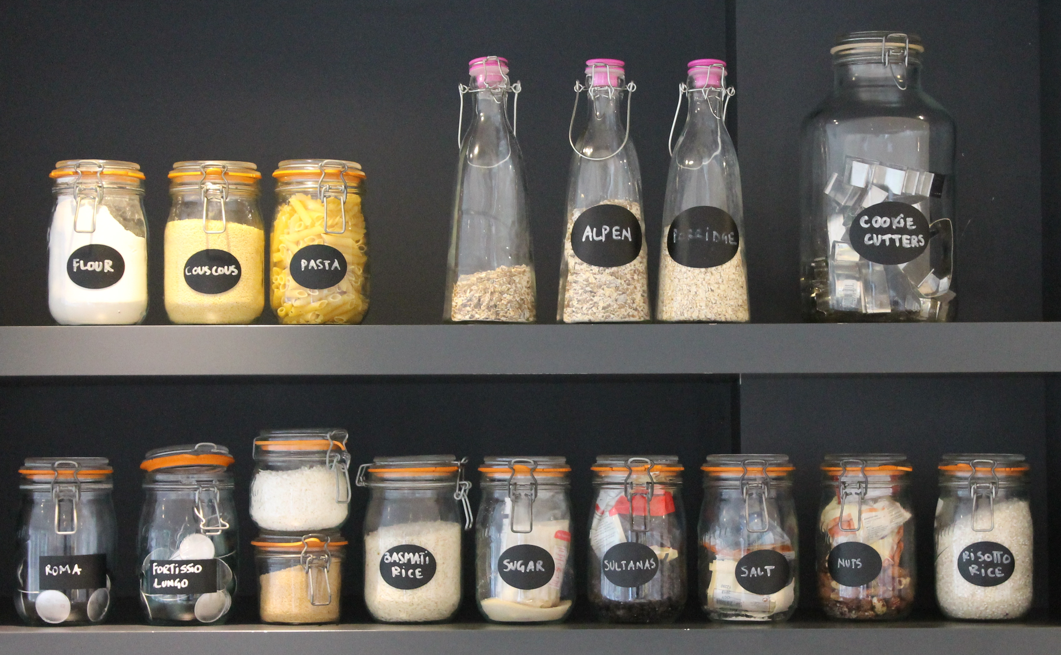 Storage Jars A Place For Everything P A D